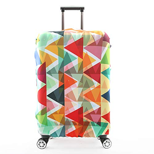 HBWZ Suitcase Cover Luggage Cover High-Elastic Boarding Case Travel Waterproof Case Suitable for 18-32in Suitcases,B,S