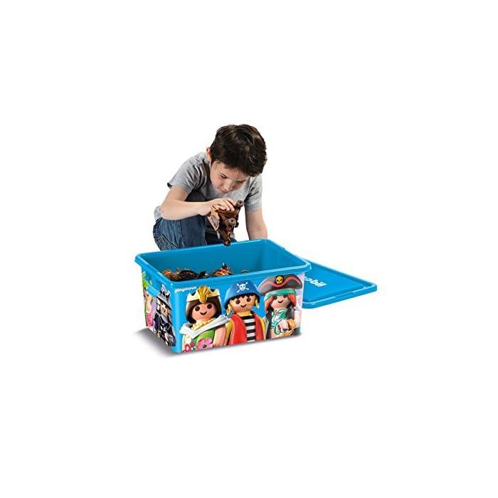 41%2BadLJKSUL Playmobil envahit su cámara para la Ranger con esta caja divertida y práctica. La caja compartimentée adicional es ideal para guardar los pequeños accesorios. Cajas creadas por My Note Deco.
