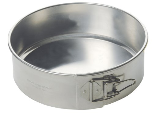 Focus Foodservice Commercial Bakeware Aluminum Spring Form Pan, 9-Inch by Focus Foodservice