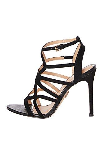 Lipsy Damen Sandale mit Zierauschnitt Schwarz