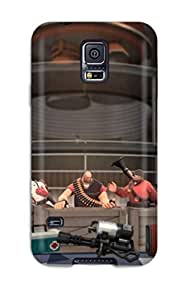 For WLhMimU1030dEbeK Team Fortress 2 Video Game Team Fortress 2 Protective Case Cover Skin/galaxy S5 Case Cover