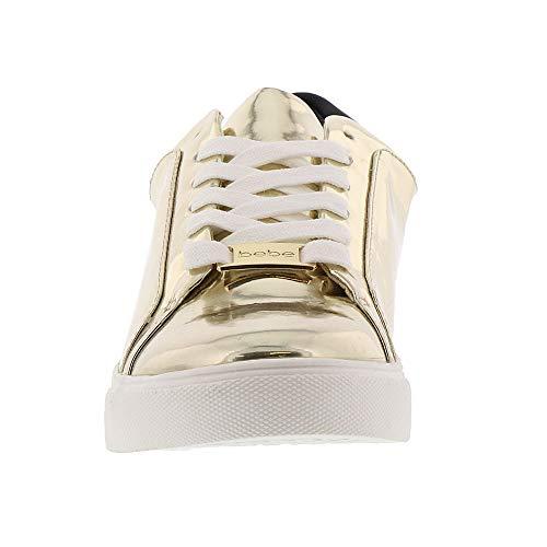 Charley Bebe Women's Black Sneaker gold 554grwx