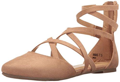 Report Women's Bree Ballet Flat Camel BYgSYPve