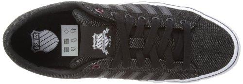 K-Swiss 03164-034-M - Zapatillas de deporte para Negro (Noir (Black/White/Wine))