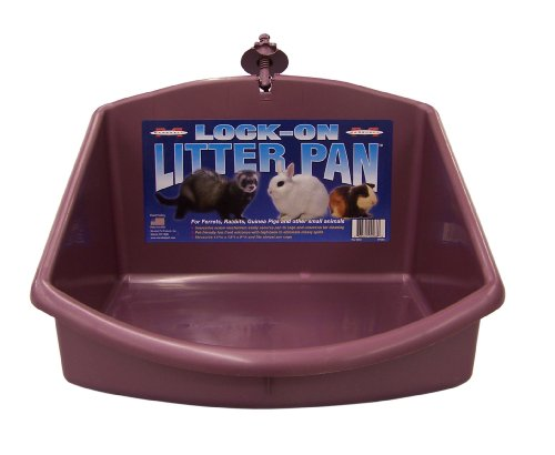 Marshall Lock-On Ferret Litter Pan(Color May Vary)