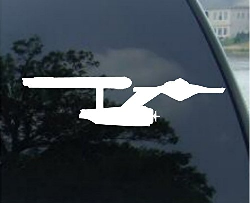 Avery Enterprise Star Trek NCC-1701 Decal Starship Window Sticker (6