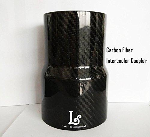 LaiYi International Carbon Fiber Auto Intercooler Coupler Radiator Hose Intake Tubing Turbo (Pro Intercooler)