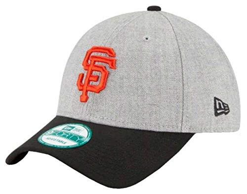 Baseball Giants Mlb San Francisco (New Era MLB San Francisco Giants The League Heather 9Forty Adjustable Cap, One Size, Heather)