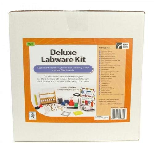 Kit Labware (American Educational Products 7-2000-38-RT, Deluxe Labware Kit, Pack of 3 Sets)