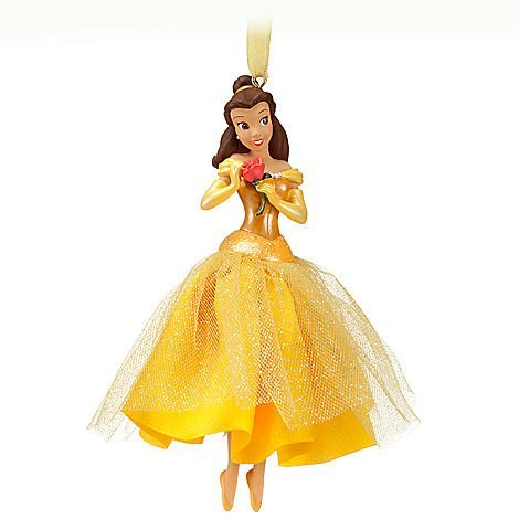Disney Princess Belle 'Snow Enchanting!' Sketchbook Ornament