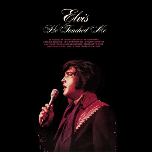 Image result for elvis he touched me
