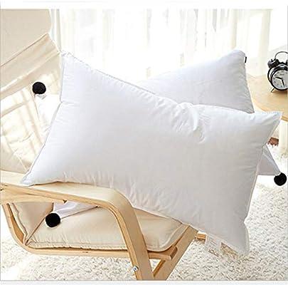 Chinese favorite Almohada Antiácaros 48 x 75 cm Pack 2 Almohadas de Hotel Almohada con Relleno de Microfibra y Tejido Antialérgico para Dormir de Lado y Boca Arriba: Amazon.es: Hogar