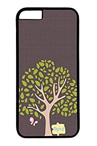Cartoon Trees Slim Hard Cover Case For Sumsung Galaxy S4 I9500 Cover PC Black Cases