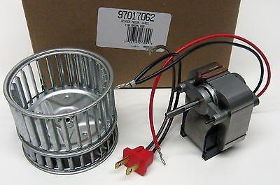 Broan Vent Motor # 97017062, 3000 RPM, 0.8 amps, 120V 60hz.
