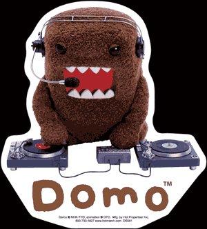 Domo Kun - Die Cut Vinyl Stickers (DJ) ()
