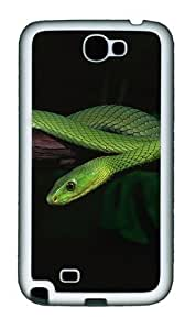 2013 Green Snake Desktop Personalized Case For iphone 6 plus Cover and - Hard - Black