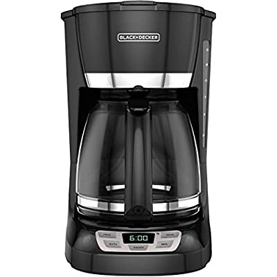 Black & Decker 12-Cup Programmable Coffee Maker - 2 year warranty