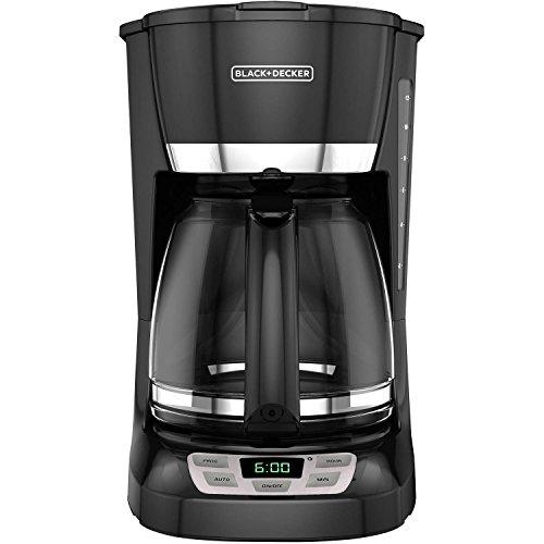 Black & Decker 12-Cup Programmable Coffee Maker - 2 year warranty (Safe Dishwasher Coffee Black Decker & Maker)