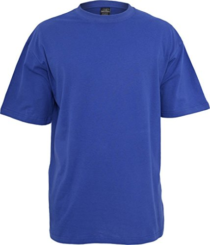 Urban Classics Herren TB006 großes T-Shirt Kurzarm T-Shirt 6XL königsblau