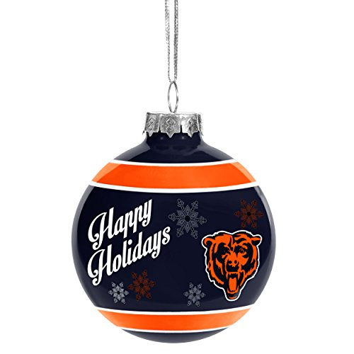 Christmas Ball Ornament Chicago Bears