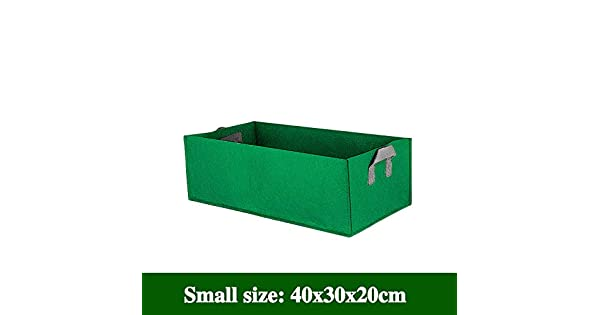 Amazon.com: Rectangle Planter - Best Quality - Grow Bags ...