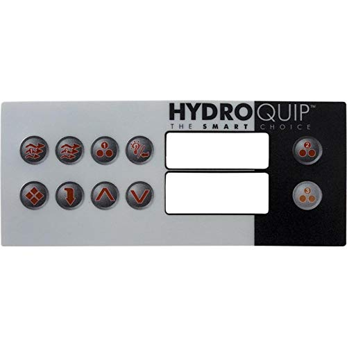 - Hydro-Quip 80-0211-10 Top Side HT-2 10 Button Overlay