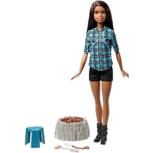 Barbie Sister Doll Camping Set