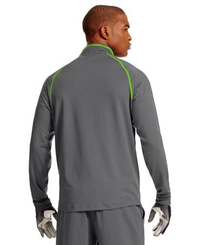 Under Armour Men's NFL Combine Authentic ColdGear® Infrared ¼ Zip Large Graphite