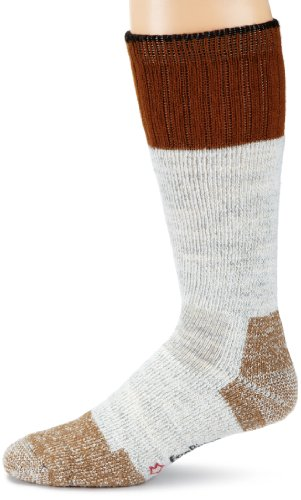 Fox River Rugged Thermal Mid-Calf Boot Work Sock (Grey, (Mid Thermal Sock)