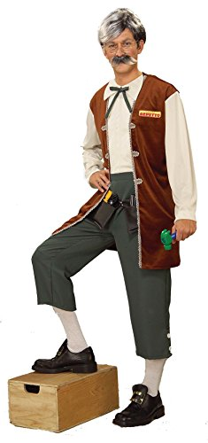 [Forum Novelties Men's Gepetto The Toy Maker Adult Costume, Multi, Standard] (Pinocchio Adult Costumes)