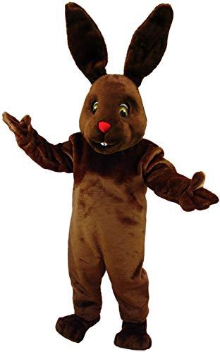 Chocolate Bunny Lightweight Mascot Costume]()