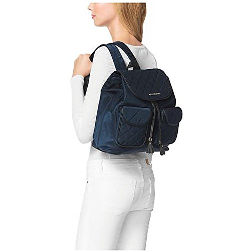 3b8e42a05 MICHAEL Michael Kors Quilted Nylon Large Flap Backpack (Navy) - Buy Online  in UAE. | michael kors Products in the UAE - See Prices, Reviews and Free  ...