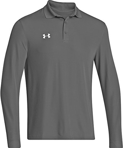 Under Armour Men's Performance Longsleeve Polo (Medium, Graphite)
