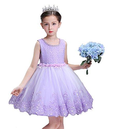 8601c38fec504 Amazon.co.jp: 子どもドレス ジュニアドレス フォーマル用 ピアノ発表会 子供ドレス 結婚式 女の子 ドレスキッズワンピース 120  130 140 150 キッズ  服& ...