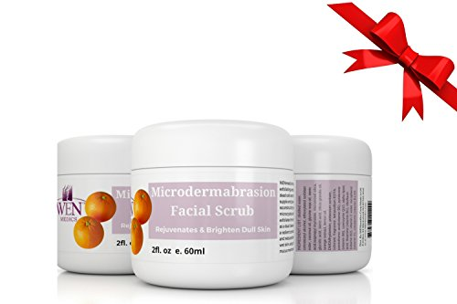 WENmedics Microdermabrasion Facial Scrub.(2 Floz) - Exfoliate, Smoothen Brighten & Reduce the Appearance of Wrinkles & Acne Scar -All Natural Antioxidant