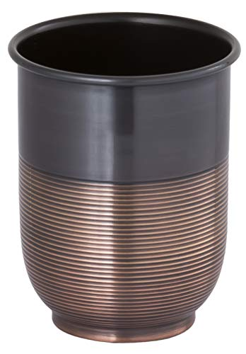- Buffalo Brand Trading Company, Heavyweight Brass, Oil Rubbed Bronze Finish, Tumbler, 4 Inch Height