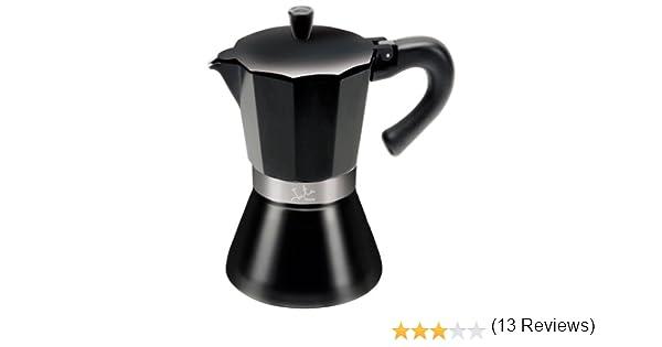 Jata Hogar Fuoco - Cafetera Italiana de inducción, Color Negro: Amazon.es: Hogar