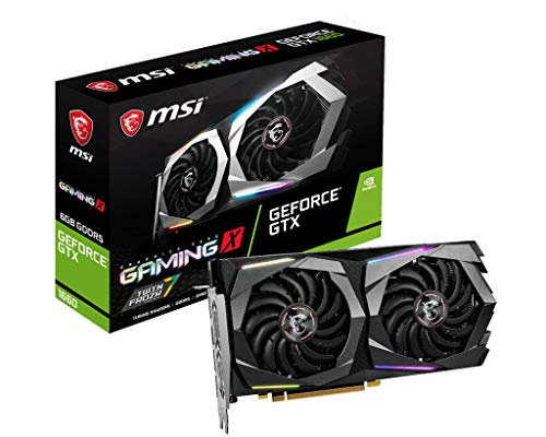 MSI GeForce GTX 1660 GAMING X 6G Graphics Card [Official Domestic]