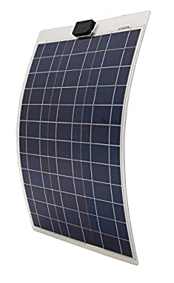 Best Cheap Deal for ECO-WORTHY 50W 18V 12V Semi Flexible Solar Panel Module with Connectors for RV Boat Cabin Tent Car from ECO-WORTHY - Free 2 Day Shipping Available