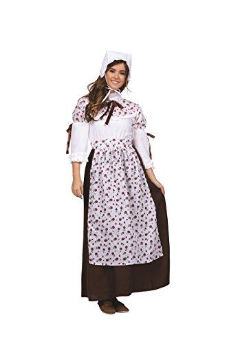 RG Costumes 81362-M Medium Lady Colonial Adult Costume - Brown