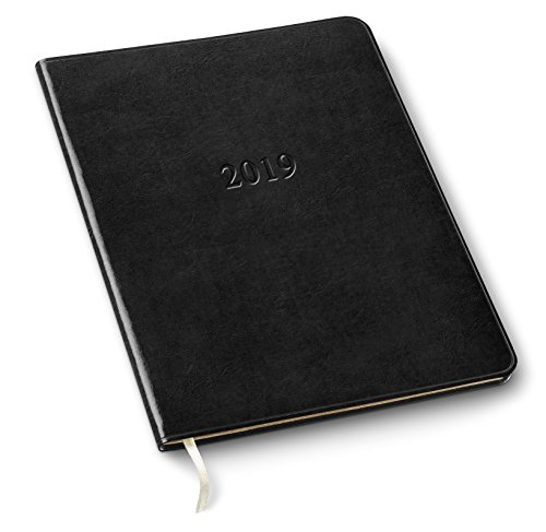 2019 Gallery Leather Professional Planner Acadia Black 9