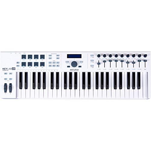 (Arturia KeyLab Essential 49 Universal MIDI Controller and Software )