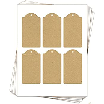 image relating to Printable Tags With Strings named : Avery Printable Tags for Inkjet Printers Merely