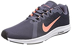 Nike Womens Wmns Downshifter 8 Lt Carbon Crimson Thunder Blue Size 9