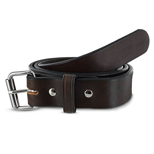 Review Hanks Gunner – Concealed Carry – EDC Belt – 100 Year Warranty USA Made – Brown – 38