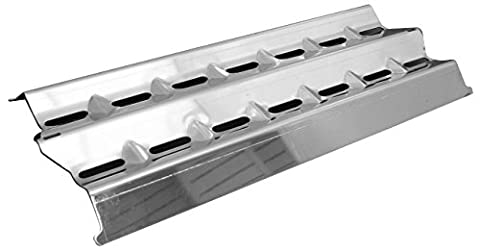 Music City Metals 94001 Stainless Steel Heat Plate Replacement for Select Broil King and Sterling Gas Grill (Broil King Signet)