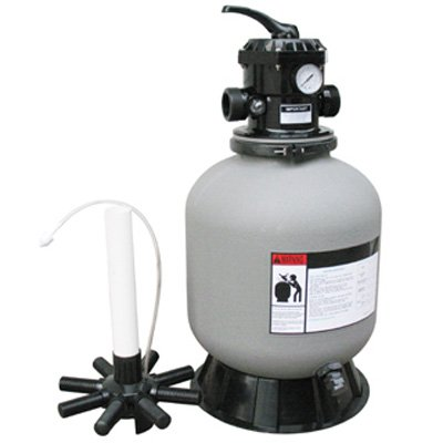 24'' Above Ground Top Mount Swimming Pool Sand Filter Replaces S244T by Poolline