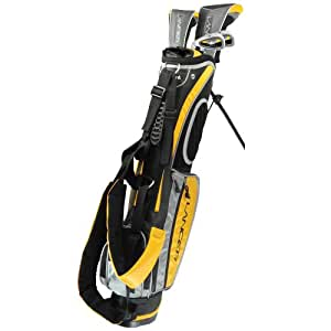 Amazon.com: Intech Lancer Junior Golf Set, (Right-Handed, Age 4 to 7, 17.5 degree Driver, 4/5