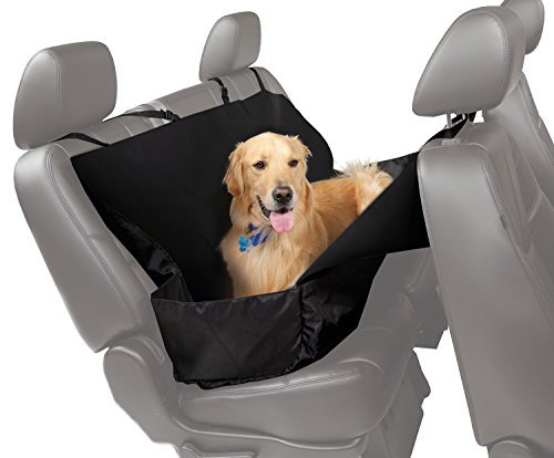 - Coverking SPC85 Universal Pet Protector for Complete Rear Seat, Front Seat Back and Door Panel Protection, Black