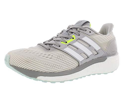 adidas Women's Supernova w Running Shoe, Light Grey Heather/White/Medium Grey Heather, 11 M US